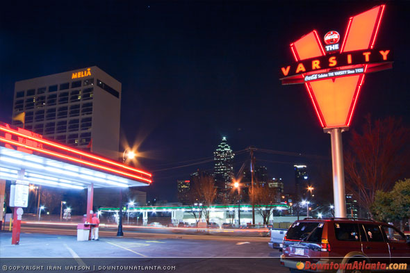 The Varsity in Downtown Atlanta